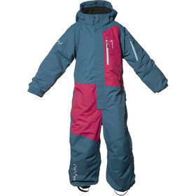 Isbjörn Halfpipe Winter Jumpsuit Kids, petrol